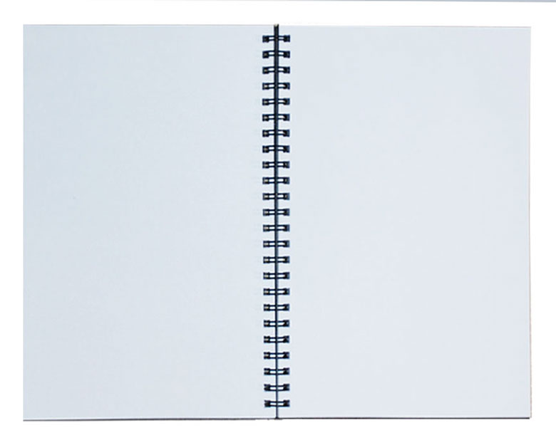 Lined blank paper