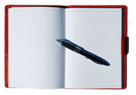 Hardback Refills in ivory or black covers