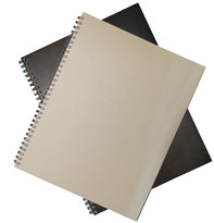 8 1/2 x 11 Wirebound Journal Refill Paper